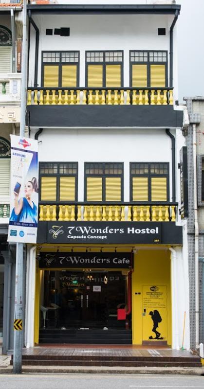 7 Wonders Capsule Hostel In Singapore Singapore Find