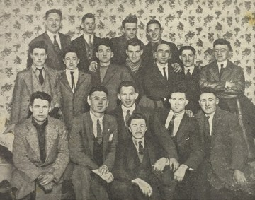 George Gilmore (1898-1985) second row first on the left.