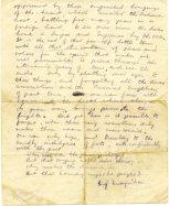 Letter from Michael to John pg2