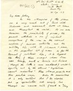 Letter from Michael discussing the atmosphere in camp, 21 September 1917 (UCDA P57/221)