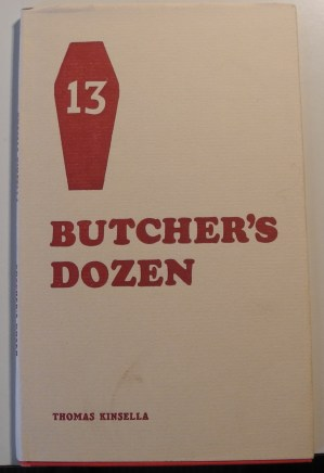 'Butcher's Dozen' published by Peppercanister Press