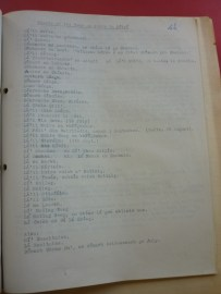 Field notes from Fearann an Choirce, Inishmore, Co. Galway, 1942 on feasts