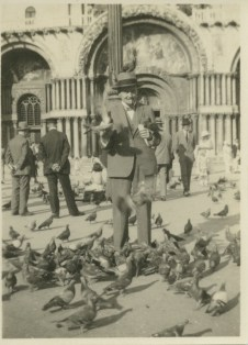 Theo Dillon in Venice on honeymoon, 21 June 1926 (UCDA P126/136/06)