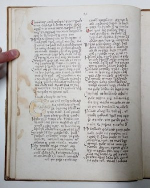 Page 22 from the Morris Manuscript 27