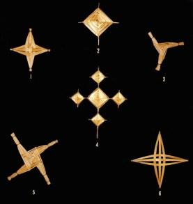 Various St. Brigid's Crosses