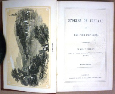 'Stories of Ireland and her Four Provinces' by Mrs. Geldart, 1860.