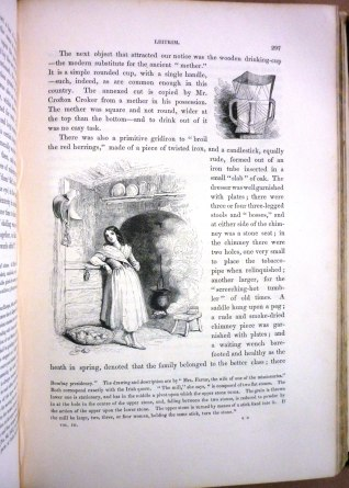 Text from 'Ireland, its Scenery and Characters etc' by Mr. and Mrs. S.C. Hall (1840s).