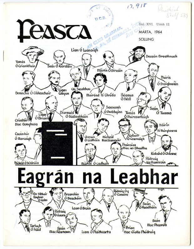 Cover of Feasta from March 1964