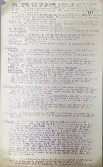 Acts of aggression carried out by British Forces, 17-22 January 1921, p111 (UCDA P7/A/13)