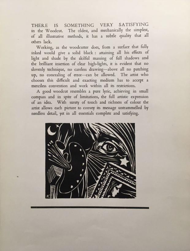 Forward to Harry Kernoff's <em>12 Woodcuts</em> (1944).