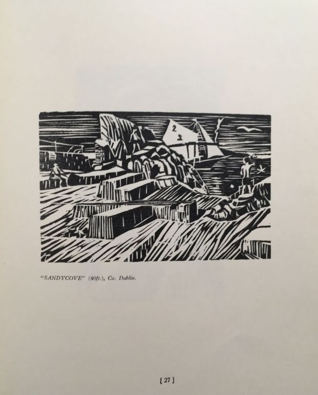 'Sandycove (40 Foot)' from <em>Thirty-Six Woodcuts.</em>