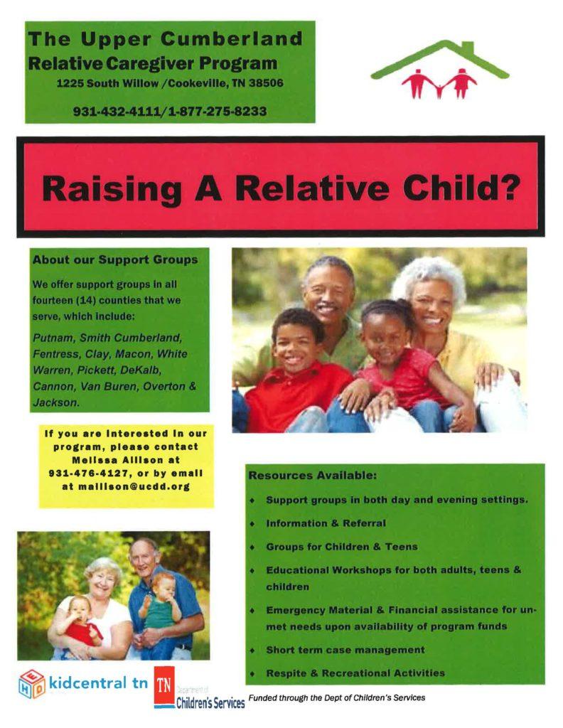 Relative Caregiver Program Flyer