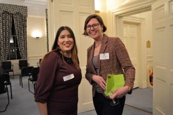 Student with Panellist Stephanie