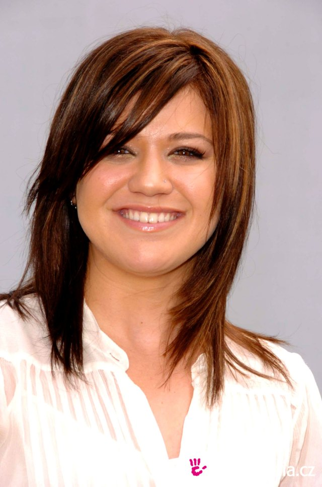 kelly clarkson - - hairstyle - easyhairstyler