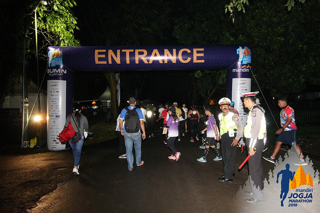Start Line Mandiri Jogja Marathon 2018