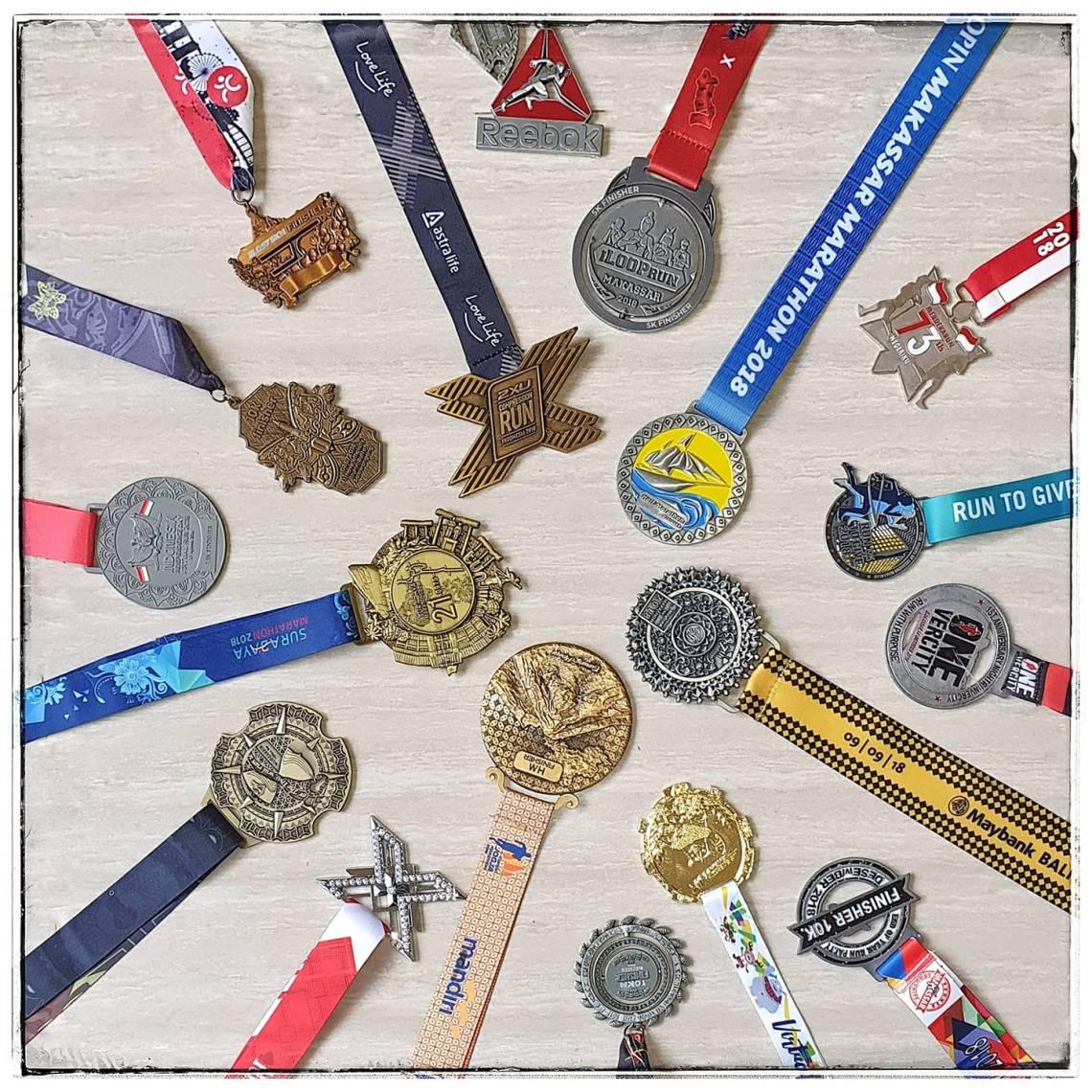 Koleksi Medali Saya 2018