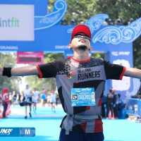 Virgin Full Marathon di Pocari Sweat Bandung Marathon 2019
