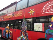 City Sightseeing bus in Moscow