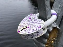 Lock of love on Lions Bridge