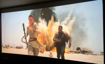 Star Wars EP7,スター・ウォーズ/フォースの覚醒,アナモフィックレンズ,3D,プロジェクター,ホームシアター