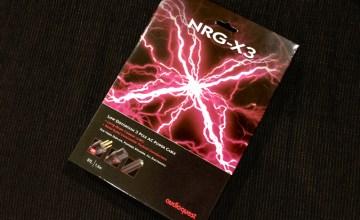 オーディオクエスト NRG-X3,電源ケーブル