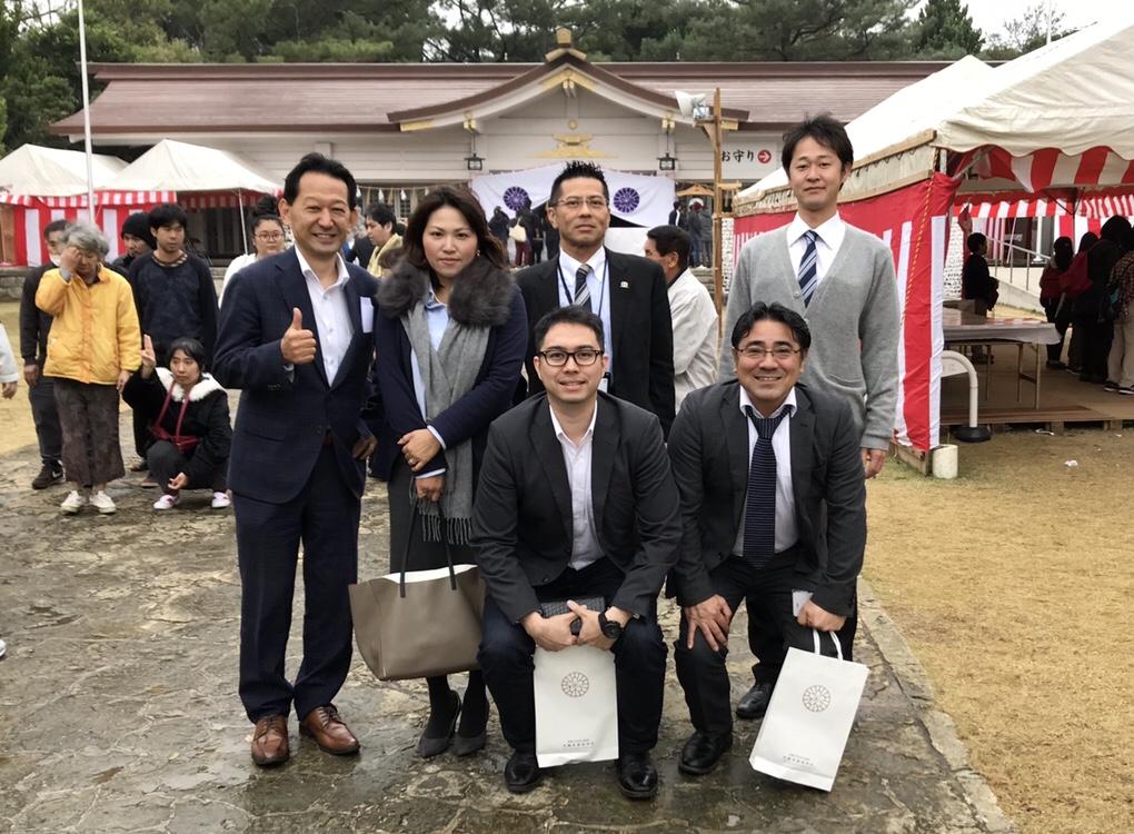 今年もファイナンシャル・ジャパン沖縄支社のメンバー一同、よろしくお願いいたします