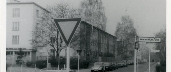 Lata 80-te – Berlin Zachodni obóz Marienfelder Alle