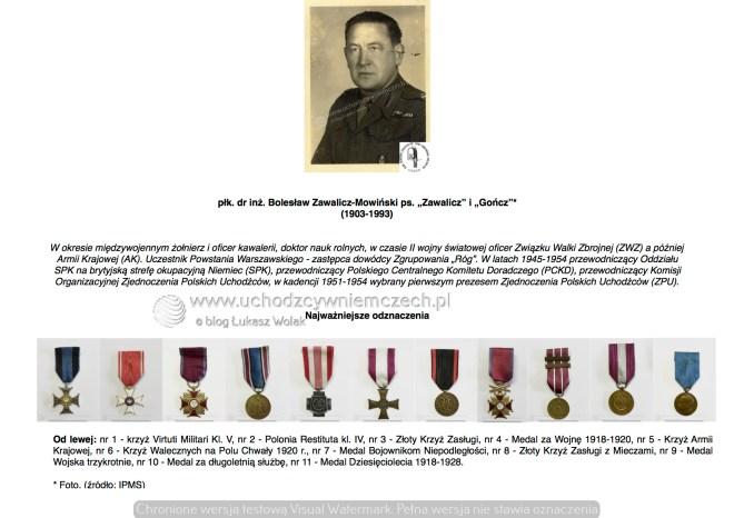 płk. Bolesław Zawalicz-Mowiński ps. Gończ