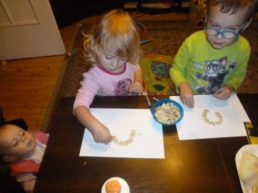 ślimaki z pestek dyni