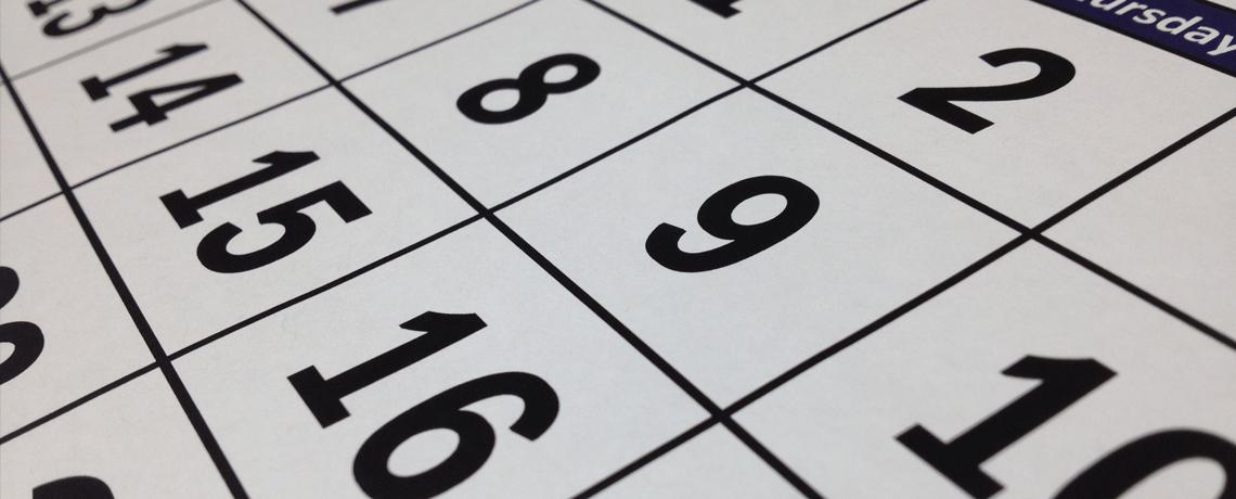 UCIP Calendar Updated
