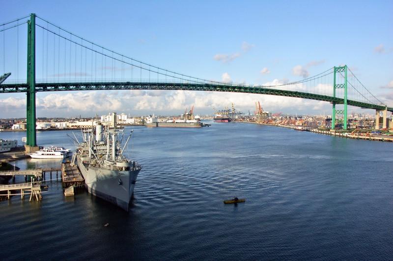 San Pedro Bridge by Len Taylor