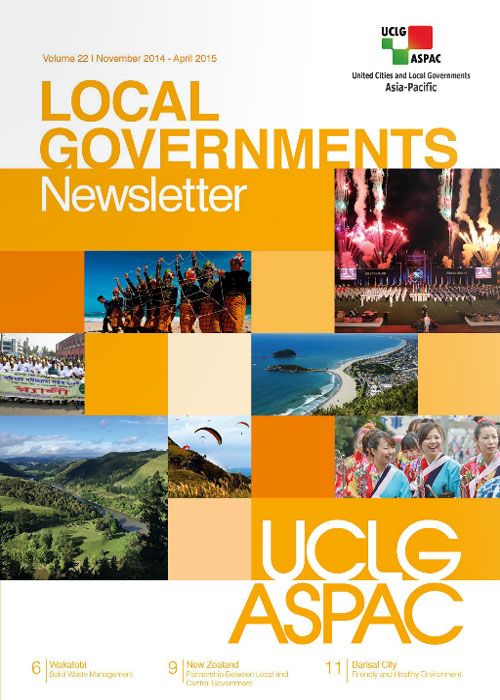 Newsletter Vol. 22 November 2014 - April 2015