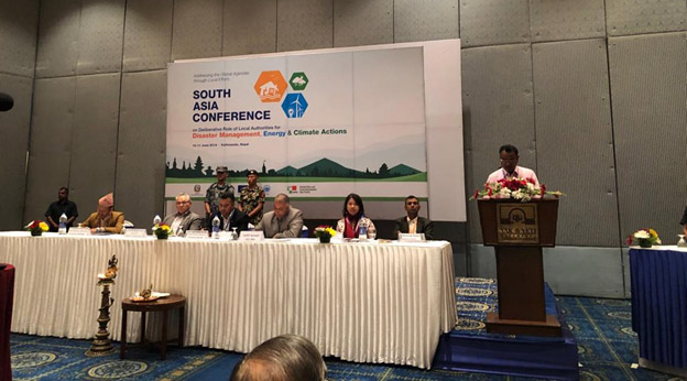 South Asia Conference on Local Authorities to Address Global Agendas: Deliberative Role of Local Governments on Energy, Climate Actions and Disaster Management