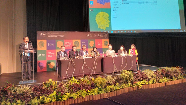 UCLG ASPAC Members Present Their Solidarity at the World Summit for Regional and Local Leaders and 6th UCLG World Congress in Durban