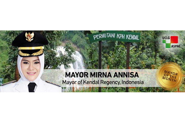 Mayor Mirna Annisa of Kendal: Development to Improve Welfare of Local People