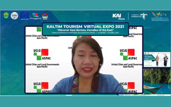 KALTIM Virtual Tourism Expo 2021: UCLG ASPAC's Support for Tourism Recovery under the LOCALISE SDGs Project