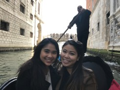 My friend, Addy and I on the gondola ride!