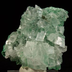 Calcite with Malachite
