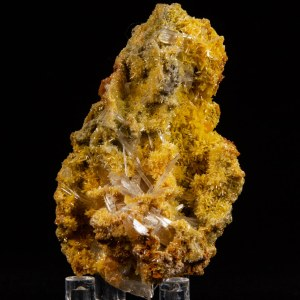 Selenite on Mimetite