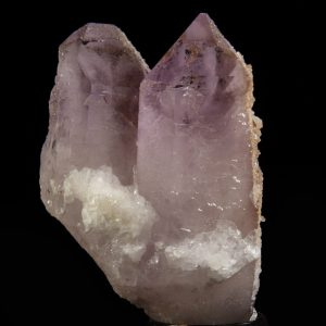 Amethyst with Apophyllite