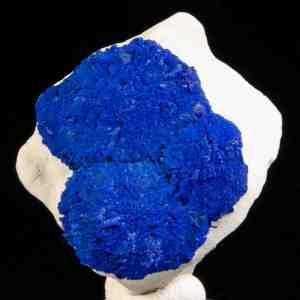 Azurite in siltstone