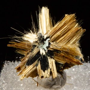 Rutile with Hematite
