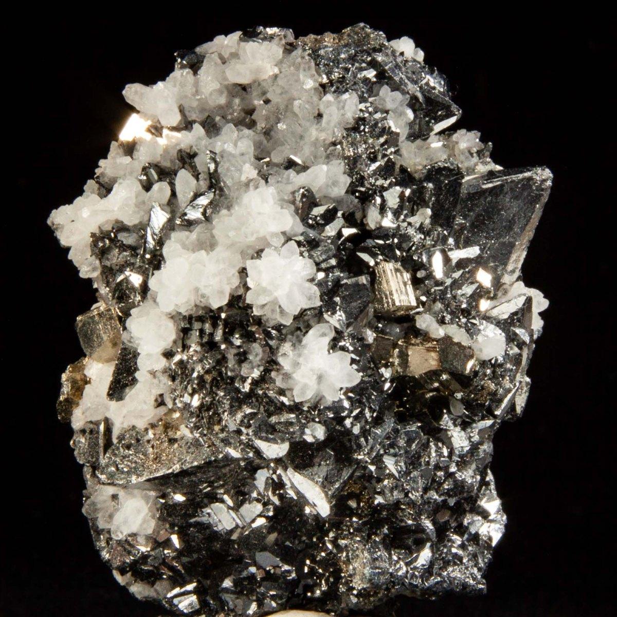 Tetrahedrite with Pyrite and Quartz