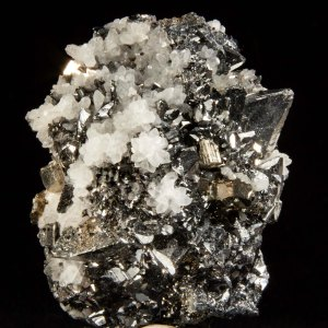 Tetrahedrite with Pyrite and Quartz
