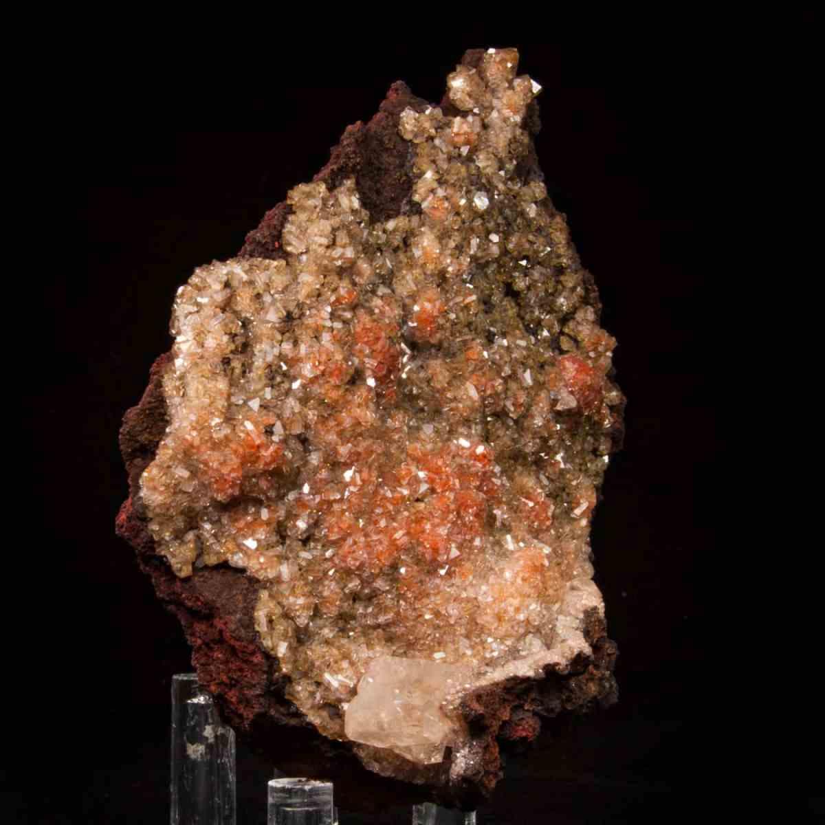 Calcite with Hematite