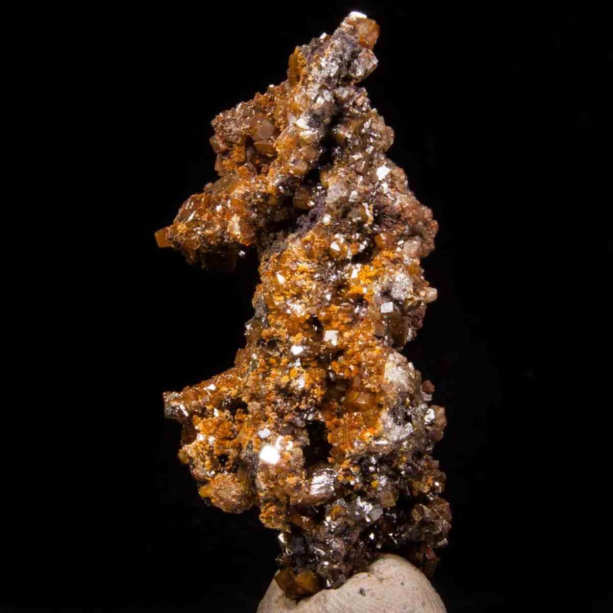 Wulfenite and Calcite