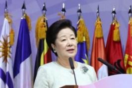 韓鶴子総裁