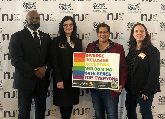 Prosecutor Ruotolo and Director Parham participated in Union County's 2020 LGBTQ Networking Roundtable.