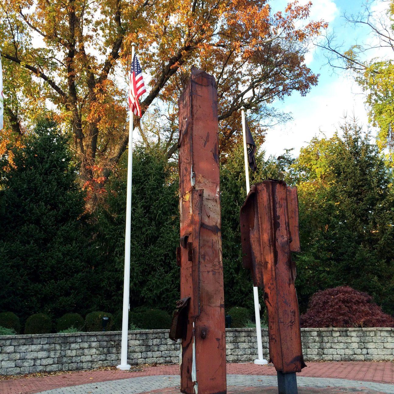 911 Memorial fall side view