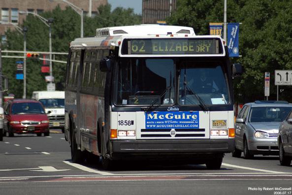 62 NJTransit bus